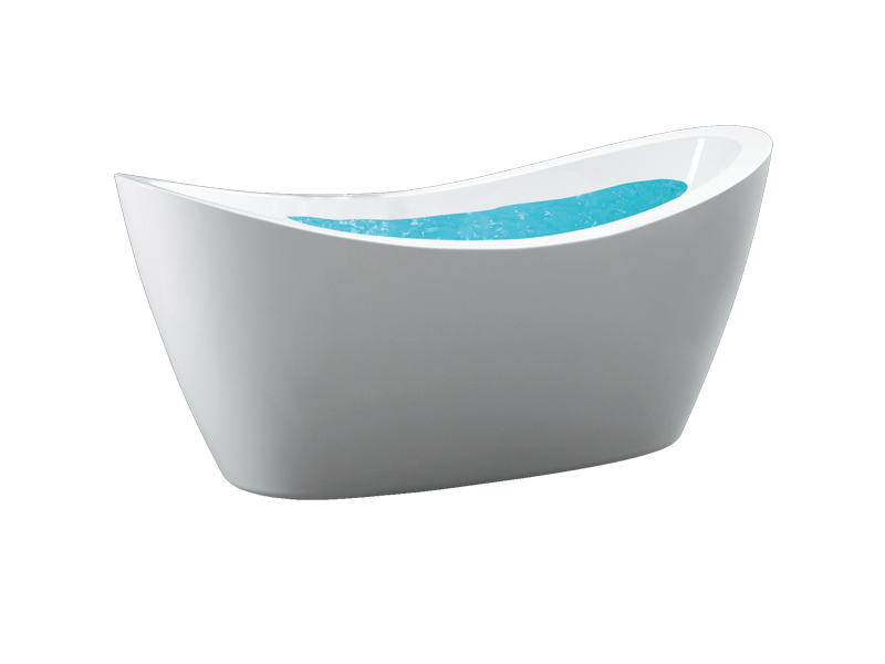 Pearl Jetted Tub Stand Alone Tubs Oval Bathtubs Bathroom